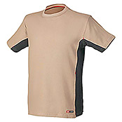 Industrial Starter Camiseta Stretch (S, Beige)