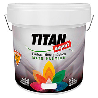 Titan Pintura para paredes Export Decoración (Blanco, 4 l, Mate)