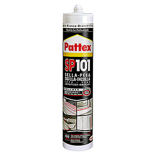 Pattex Silicona SP 101 300 ml (Blanco, 1 ud.)