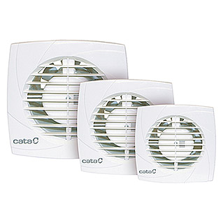 Cata Ventilador de baño B-10 Plus (Color: Blanco, Diámetro: 100 mm)
