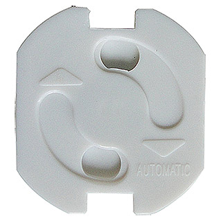 Voltomat Protector de enchufe (Blanco, Autoadhesiva, 10 uds.)