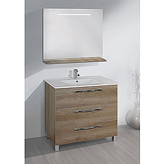 Mueble de lavabo Tree (46 x 80 x 85 cm, Nature)