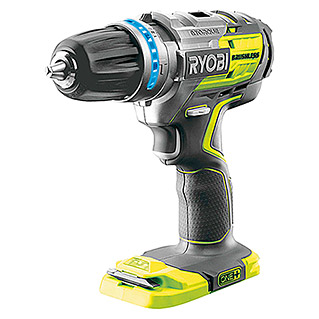 Ryobi ONE+ Accuklopboorschroevendraaier R18PDBL-0 (Li-ion, Excl. accu, Onbelast toerental: 0 tpm - 1.700 tpm)