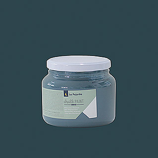 La Pajarita Pintura de tiza Chalk Paint midnight blue  (500 ml, Mate)