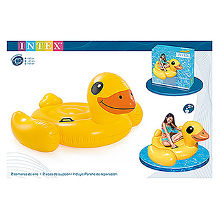 Intex Schwimmtier Yellow Duck (147 x 147 x 81 cm)
