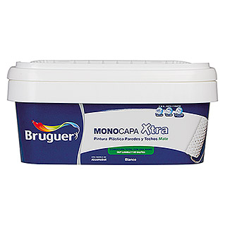 Bruguer Pintura para pared y techo Xtra (Blanco, 10 l, Mate)