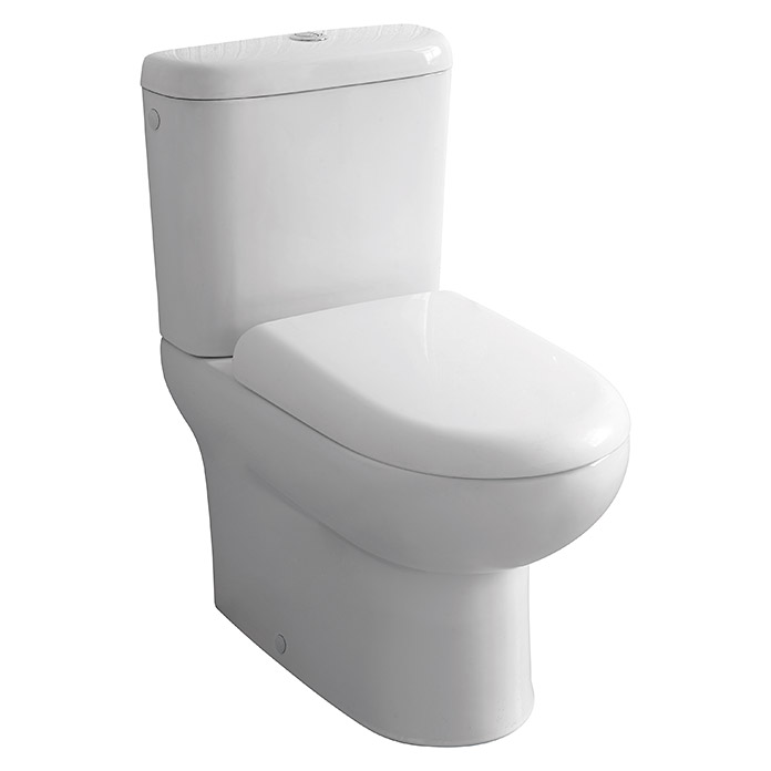 Pack de wc corfu caida amortiguada salida wc horizontal for Instalar wc salida horizontal