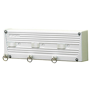 Tendedero de pared TZ S3  (Longitud cuerda de tender: 15 m, Blanco, Ancho: 29 cm)