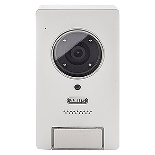 Abus Smartvest Funk-Video-Türsprechanlage PPIC35520 (3-Familienhaus, L x B x H: 45,6 x 81,5 x 142 mm, 1.920 x 1.080 Pixel (Full HD), IP54)