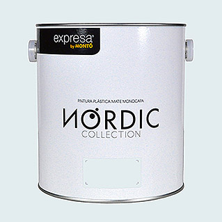 Montó Nordic Collection Pintura para paredes gris suave (4 l, Mate)