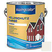 HOLZSCHUTZFARBE WB  4 l WEISS          SWINGCOLOR