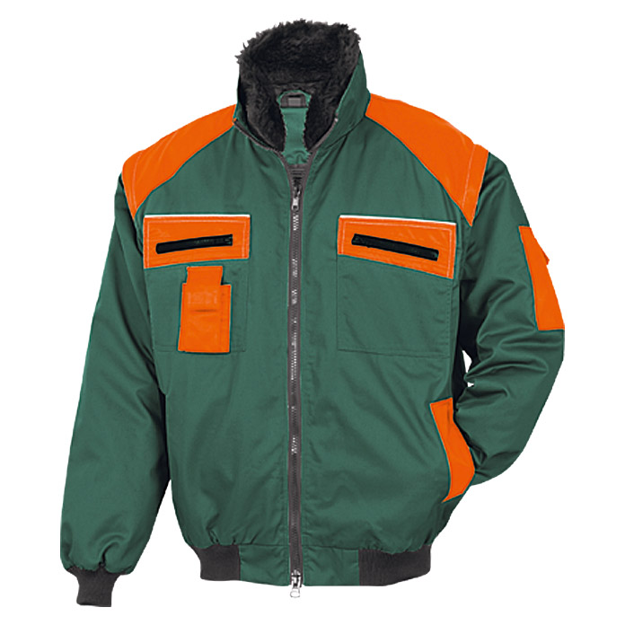 Forstblouson  (XXL, Grün/Orange)