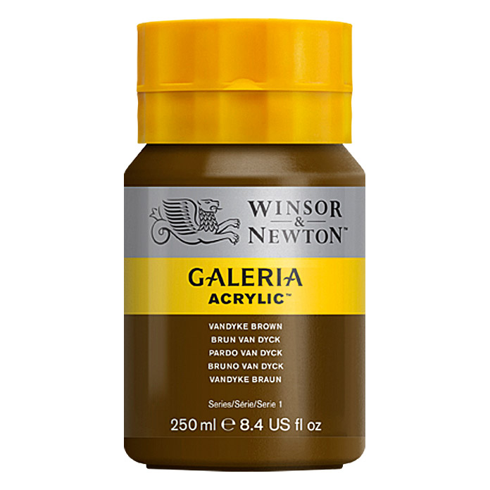 GALERIA 250ml       VANDYKE BROWN