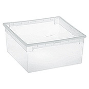 Terry Light Box Caja con tapa (37,8 x 39,6 x 18,5 cm, Capacidad: 23 l)