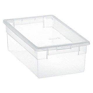 Terry Light Box Caja con tapa (19 x 33,4 x 11 cm, Capacidad: 5 l)