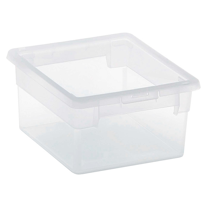 Terry Light Box Caja con tapa (17,8 x 20,4 x 10 cm, Capacidad: 2,5 l)