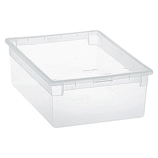 Terry Light Box Caja con tapa (27,8 x 39,6 x 13,2 cm, Capacidad: 12 l)