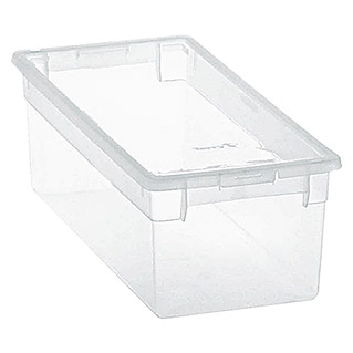 Terry Light Box Caja con tapa (17,8 x 39,6 x 13,2 cm, Capacidad: 7 l)
