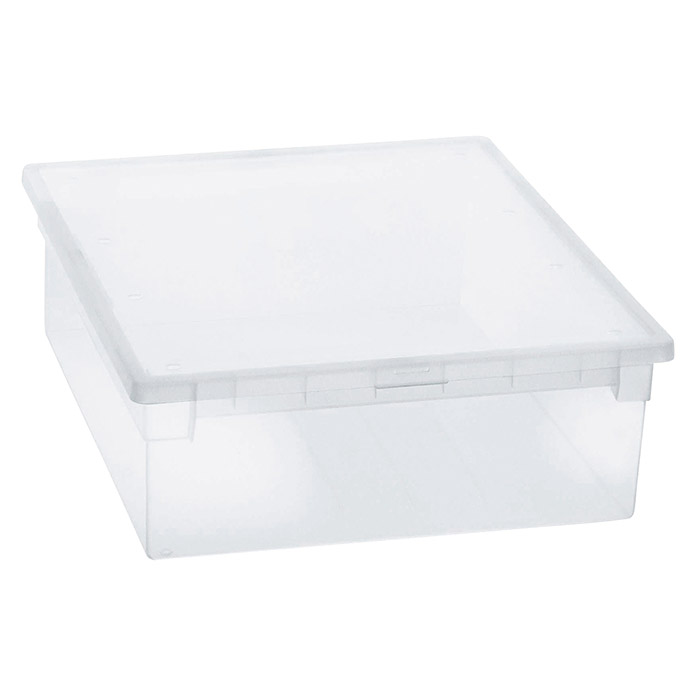 Terry Light Box Caja con tapa (37,6 x 52 x 13,9 cm, Capacidad: 52 l)