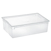 Terry Light Box Caja con tapa (57,8 x 39,6 x 18,5 cm, Capacidad: 36 l)