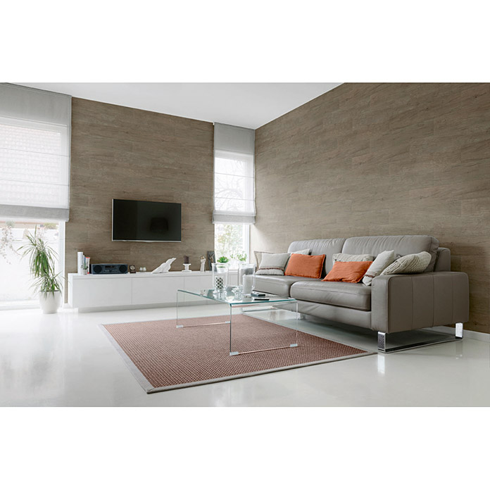 Grosfillex Panel de revestimiento GX Wall Wood Natural Oak (Roble natural, 91 cm x 15 cm x 3 mm)