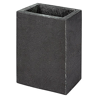 Bath Stage B-Black Vaso de enjuague (Piedra, Negro)