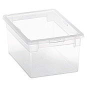 Terry Light Box Caja con tapa (19,5 x 28 x 13,2 cm, Capacidad: 6 l)