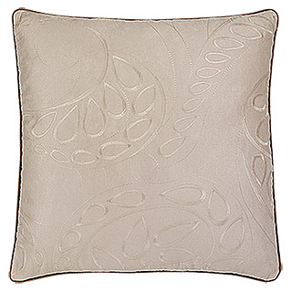 Barbara Becker Home Passion Kissenhülle (Deco Chic, Beige, 100 % Polyester)