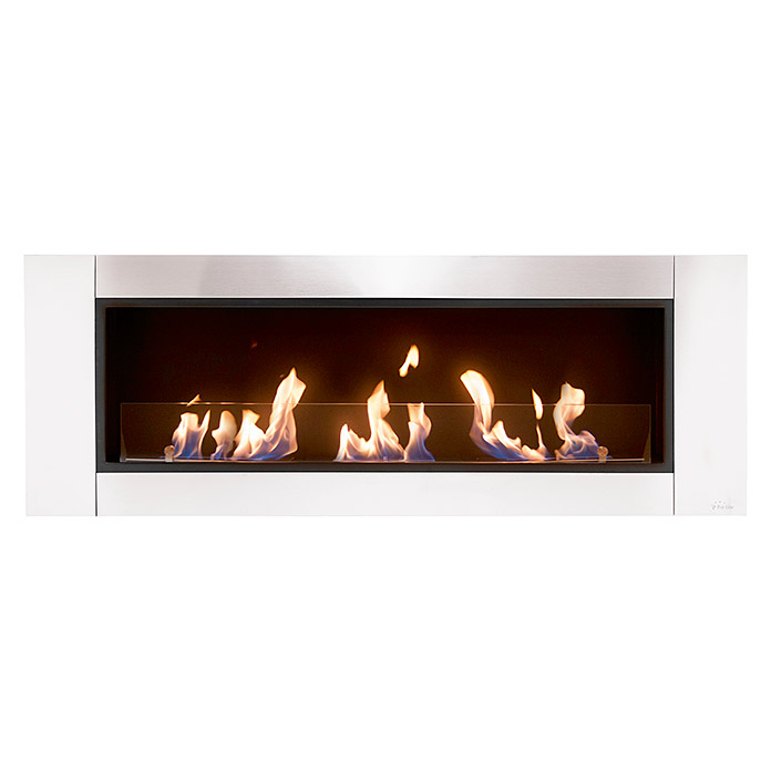 Purline Chimenea de bioetanol Hecate (1.500 x 175 x 540 mm, Acero inoxidable)