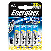 Energizer Batterie HighTech (Mignon AA, 4 Stk., 1,5 V)