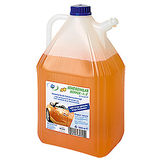SCHEIBENKLAR SOMMER 5 l  , ORANGE, 1:2