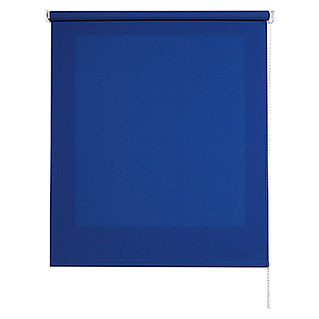 Estor enrollable Roll-up (An x Al: 100 x 250 cm, Azul, Traslúcido)