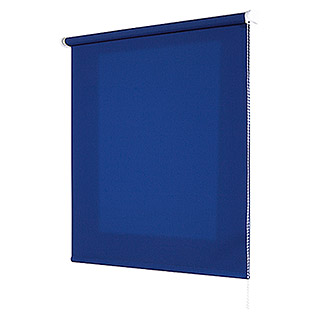 Estor enrollable Roll-up (An x Al: 100 x 180 cm, Azul, Traslúcido)