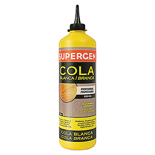 Supergen Cola blanca (750 g, Blanco)