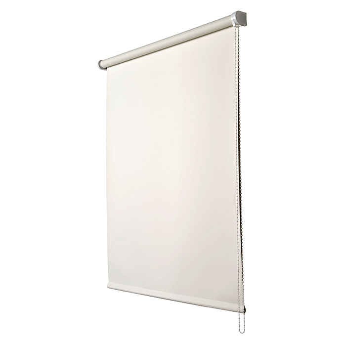 Estor enrollable Roll-up (An x Al: 140 x 250 cm, Blanco, Opaco)