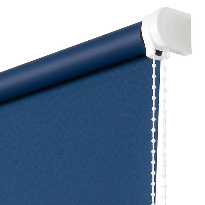 Estor enrollable Roll-up (An x Al: 160 x 180 cm, Azul, Opaco)