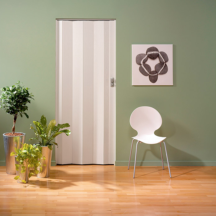 Grosfillex Puerta plegable Spacy Roble blanco (Roble, 84 x 205 cm)