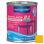 BUNTLACK 2IN1 HGL.WB125 ml RAPSGELB     SWINGCOLOR