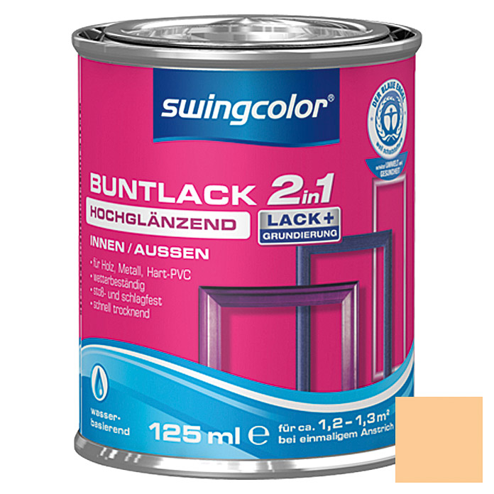 BUNTLACK 2IN1 HGL.WB125 ml PAPAYAORANGE SWINGCOLOR