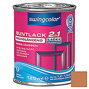BUNTLACK 2IN1 HGL.WB125 ml OCKERBRAUN   SWINGCOLOR