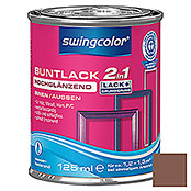 BUNTLACK 2IN1 HGL.WB125 ml NUSSBRAUN    SWINGCOLOR