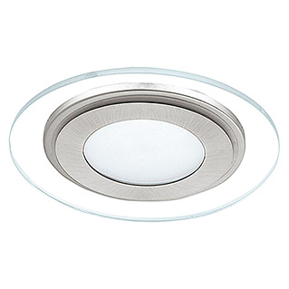 Eglo Downlight LED empotrable Pineda 1 95932 (12 W, Níquel mate, Ø x Al: 145 x 35 mm)