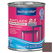 BUNTLACK 2IN1 HGL.WB125 ml SCHOKOBRAUN  SWINGCOLOR