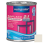 BUNTLACK 2IN1 HGL.WB125 ml CREMEWEISS   SWINGCOLOR