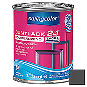 BUNTLACK 2IN1 HGL.WB125 ml SCHWARZ      SWINGCOLOR