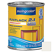 swingcolor 2in1 Buntlack (Weiß, 125 ml, Seidenmatt)