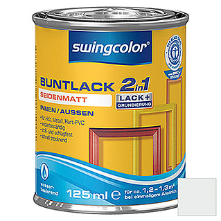 swingcolor 2in1 Buntlack (Altweiß, 125 ml, Seidenmatt)