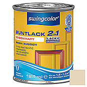 swingcolor 2in1 Buntlack (Hellelfenbein, 125 ml, Seidenmatt)