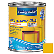 swingcolor 2in1 Buntlack (Rapsgelb, 125 ml, Seidenmatt)
