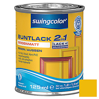 swingcolor 2in1 Buntlack  (Rapsgelb, 125 ml)